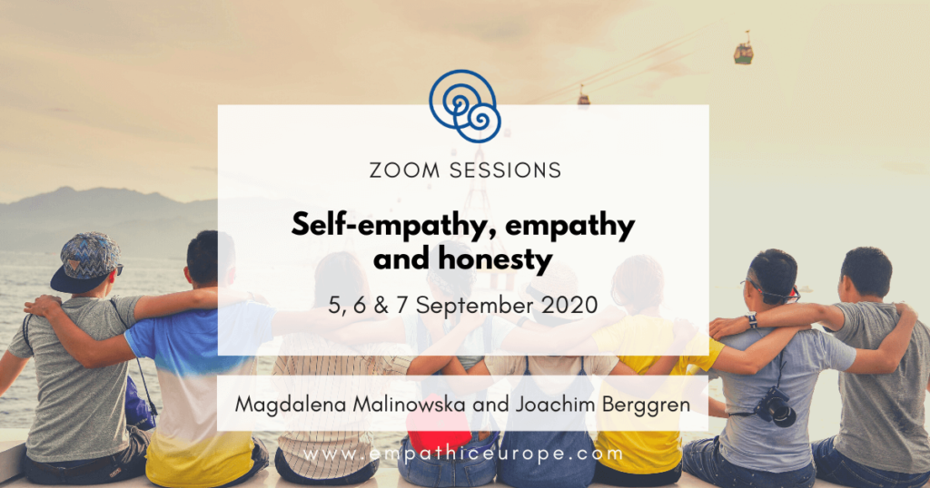 Self-empathy, empathy and honesty – a series of free NVC webinars