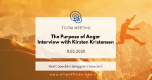 The Purpose of Anger – Interview with Kirsten Kristensen