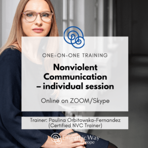 Nonviolent Communication Individual session with Paulina Orbitowska-Fernandez