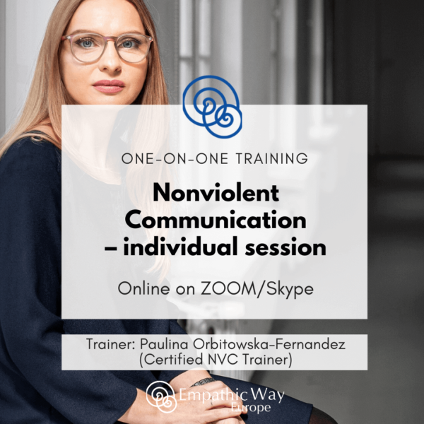 Nonviolent Communication Individual session with Paulina Orbitowska-Fernandez