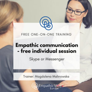 Empathic communication – free individual session with Magdalena Malinowska