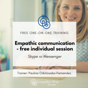 Empathic communication – free individual session with Paulina Orbitowska-Fernandez