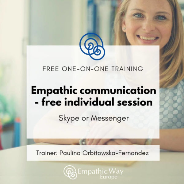 Empathic communication – free individual session with Paulina Orbitowska-Fernandez