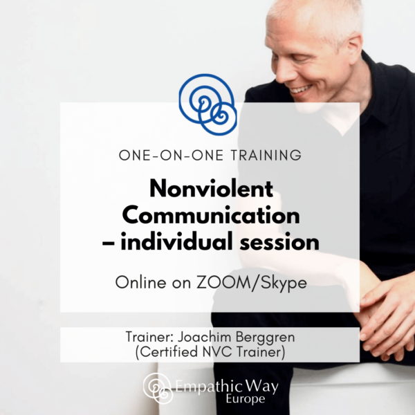 Nonviolent Communication Individual session with Joachim Berggren