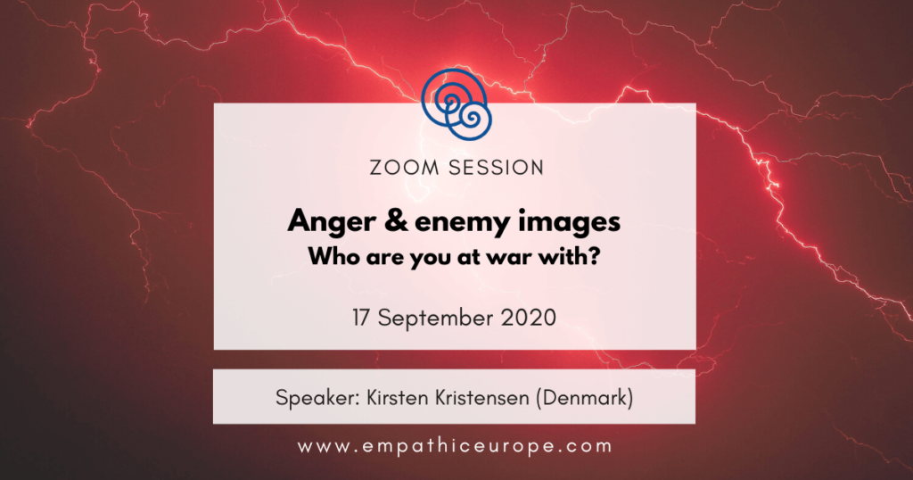 Anger and enemy images – who are you at war with