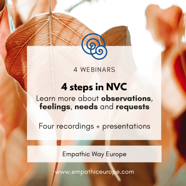 4 steps in NVC Video Recordings Empathic Way Europe