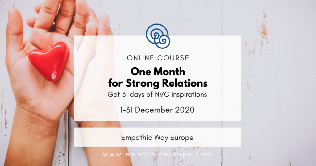 One Month for Strong Relations Empathic Way Europe