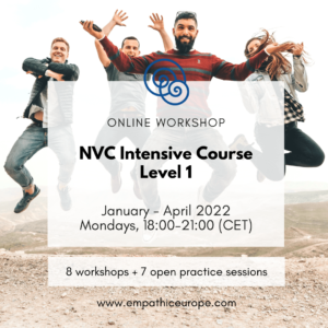 NVC Intensive Course. Level 1 Empathic Way Europe